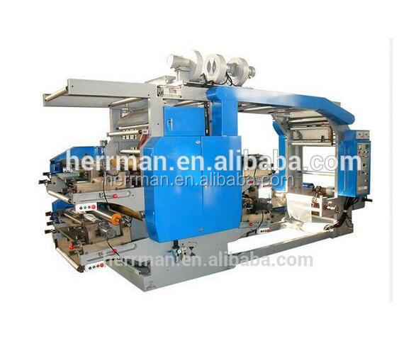 Paper High Speed 6 Colors Flexo Printing Machine