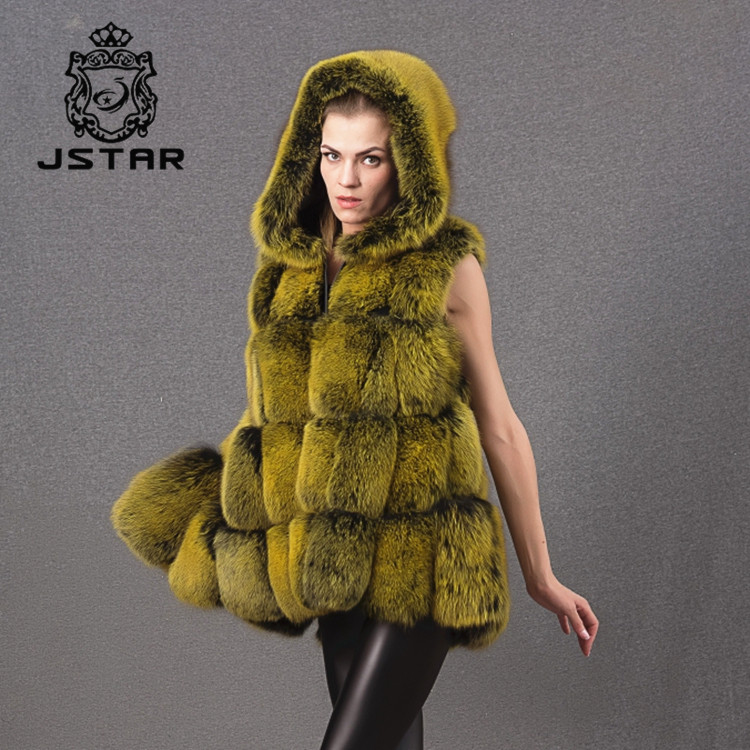 Wholesale Imported China Export Clothes Canada Fur Vest & Waistcoat