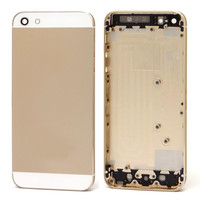 Original Mobile Phone Gold Housing Cover for iphone 5