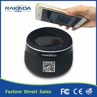 Business RS232 or USB Barcode Reader 2D business card scanner for Smart Phone APP Payment