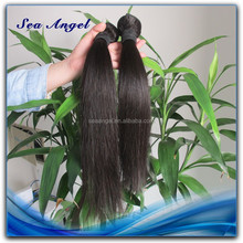 Unprocessed Natural 100% Human Hair Silky Yaki Perm Weave