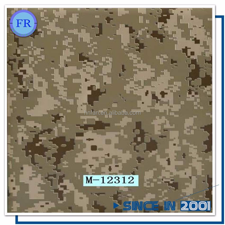 New arriverl china factory camo hydrographic water transfer film