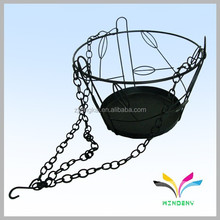 China supplier own factory basket fashion metal wire outdoor hanging plant stands