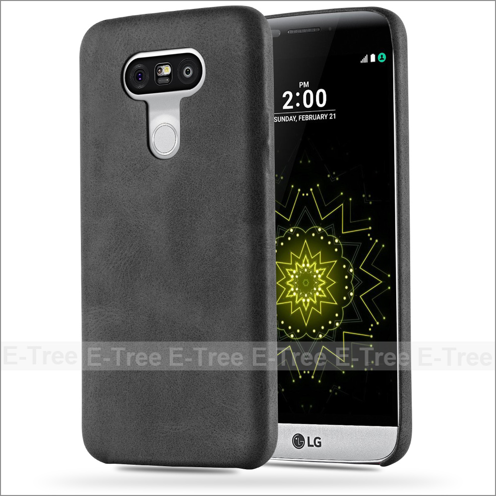 Luxury Premium Retro Ultra Slim Synthetic Leather Case for LG G5 smart phones