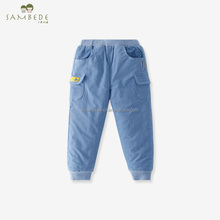 SAMBEDE Winter Children Pants Thicken Cotton Baby Boy Trousers SM7D30730
