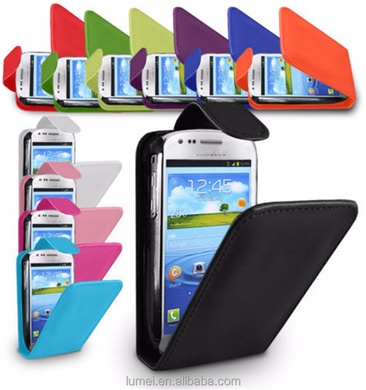 Flip Leather Wallet Book Case Cover For Samsung Galaxy S3 Mini I8190