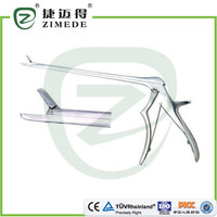 Nucleus pulposus forceps with teeth 220mm*2.0/2.5/3.0/3.5/4.0/4.5mm
