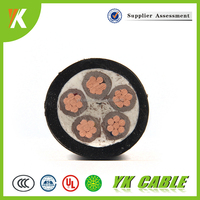 High quality low voltage XLPE insulated electrical 16mm2 25mm2 5 core power cable