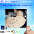 rtv2 environmental silicone rubber manufacturer for tattoo pratise