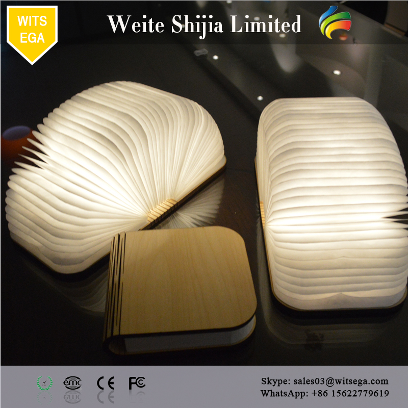 2017 Best Sale Colorful Lighting Foldable Book Light Book Lamp For Office