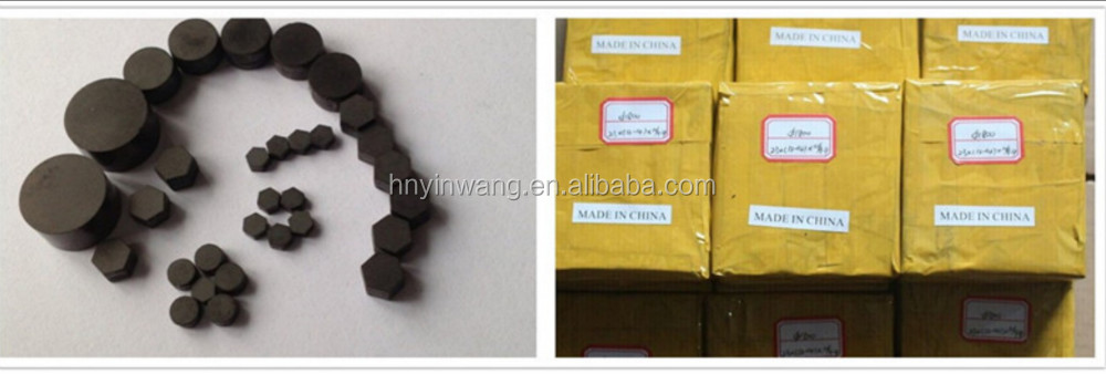 Tungsten Carbide Supported PCD Die Blank For Wire Drawing
