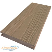 10 years warranty HDPE surface solid co-extrusion composite decking wood plastic composite