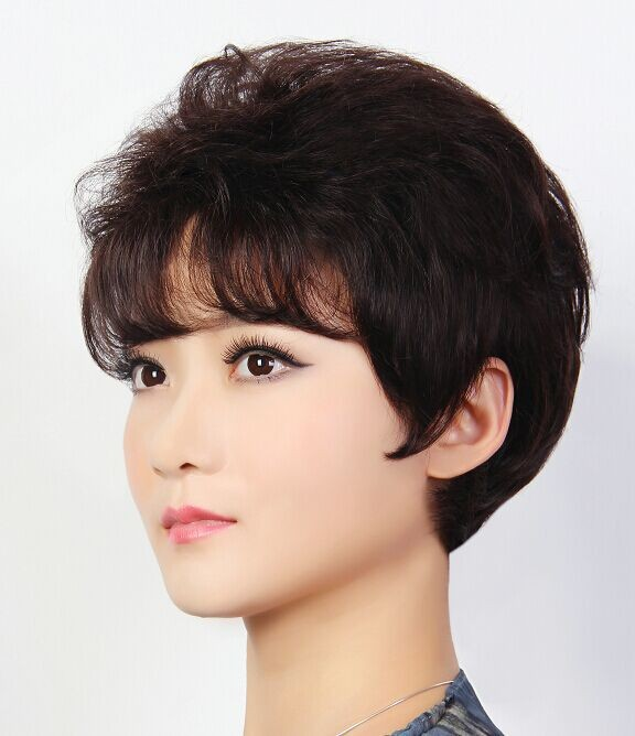 2014 Hot sale new style asian women hair wig