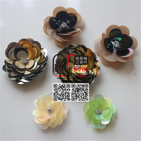 Shoes Decoration Sequin Flower Accessories Sequin