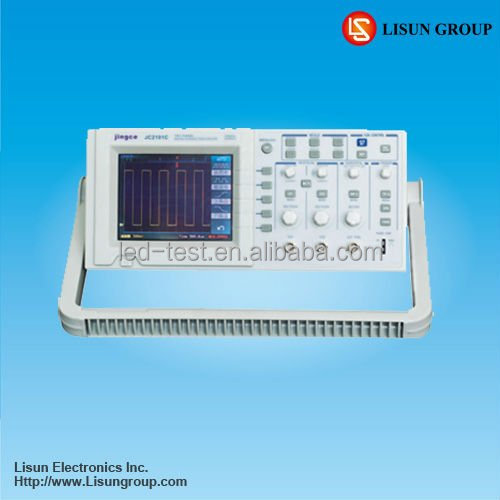 Lisun JC Handheld oscilloscope price 60mhz 500Msa/s equivalent sample rate used in all kinds of Electronic Products Testing
