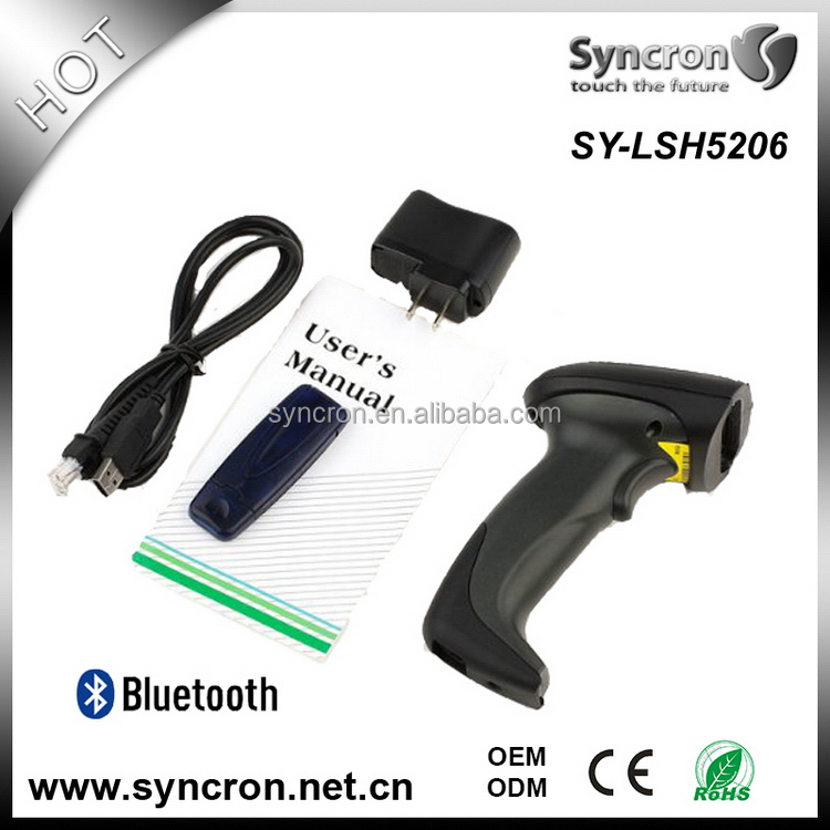 Top grade stylish 1d barcode scanner wireless mobile pda