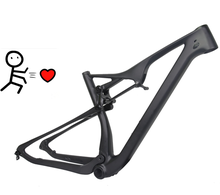 Toray t800 carbon fiber bicycle frame 27.5er/29er MTB carbon mountain bike/bicycle frame