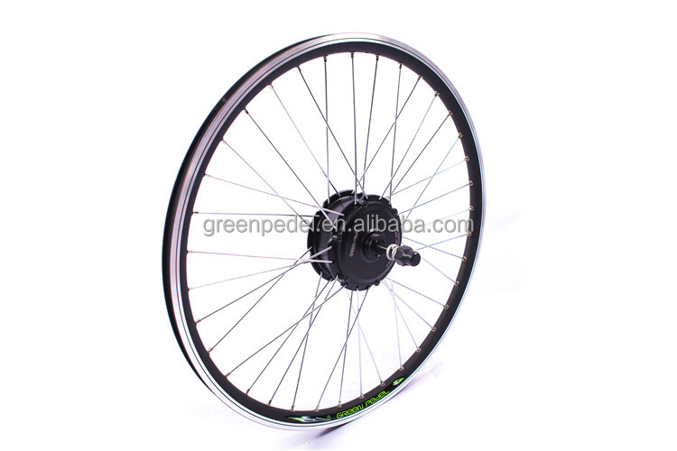 "Green Pedel cheap direct factory 24"" 24V 36V 250W electric bicycle engine conversion kits"