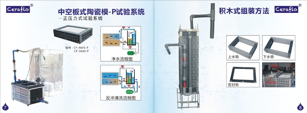 China manufacturer ceramic water filter for drinking water