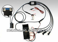 RS232 5 in 1 programming cables for two way radios motorola P1225,GM300,GP328