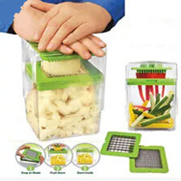 Food Chopper, Fruit Vegetable Slicer, Chop Magic Manual Food Processor