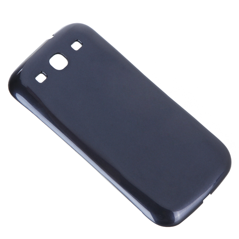 Wireless Power Back Cover Case Charging Receiver Power Bank Case Mobile Phone Chargers for Samsung Galaxy S3 III i9300 Dark Blue