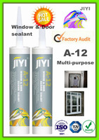 A12 component acetic general purpose silicone sealant for application glass & aluminum