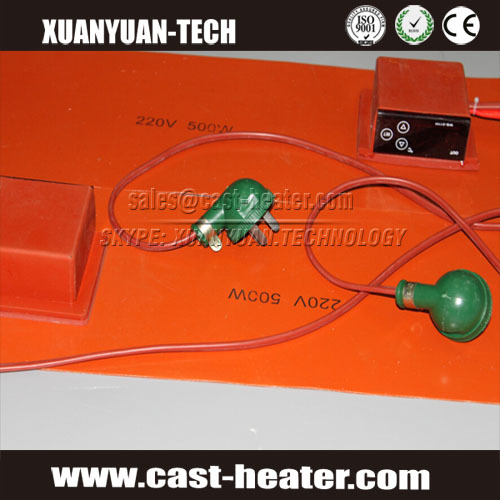 Flexible Silicone Rubber Drum Heater 200 Liter