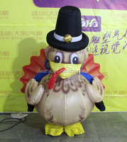 holiday decorations inflatable Turkey replicas costume for event