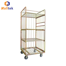 High Quality Metal Wire Lndustrial Roll Storage Cage