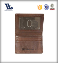 Classic bifold Leather Rfid Card Holder Wallet
