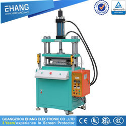 Hot new products 2015 screen protector hydraulic die cutting machine