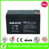 New energy grate 12V 7Ah Alarm System UPS Battery deep cycle gel battery