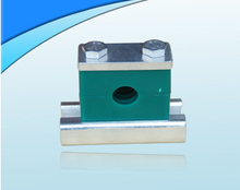high quality gas pipe clamp with rail