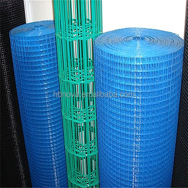 Different types of welded wire mesh with square hole shape 0.5-8mm diameter