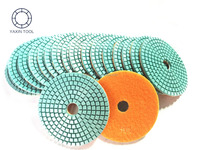 Abrasive Diamond floor Polishing Pad for granite marble stone in fast polishing and high gloss