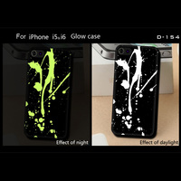 Phone Cases For Apple iphone 4 4S Accessories Soft TPU Protective Cover Factory price Luminous Lights Black