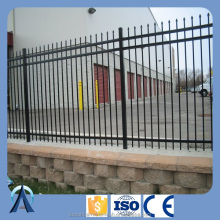 Wholesale & low price black powder painted used aluminum picket fence