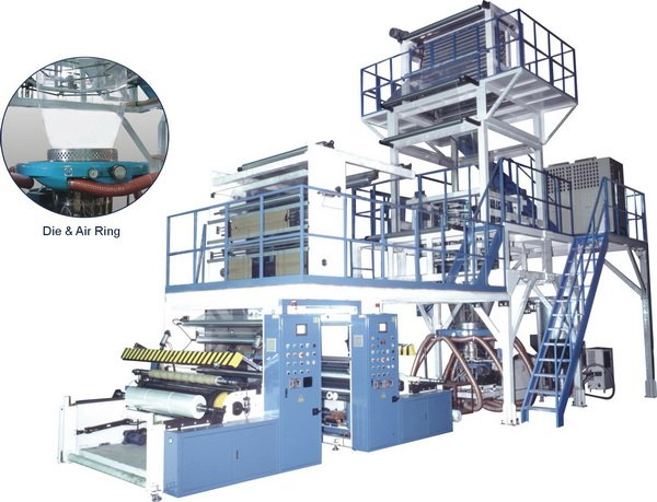 Pre-Stretch, Stretch & Cling Film Blown Film Machine with Liquid PIB Feeding System