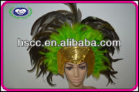 Sequin Fashion Feather Carnival Headdress