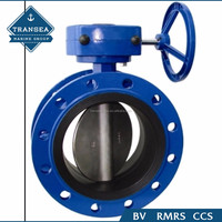High Quality Double Eccentric 6 Inch Butterfly Check Valve