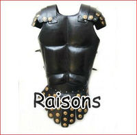Medieval Leather Muscle Armor Cuirass , Leather Armor