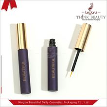 UV coating excellent eyelash extension container /cosmetic makeup packaging