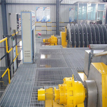 steel grating cutting machine / high quality special-shaped steel grating /serrated steel grating