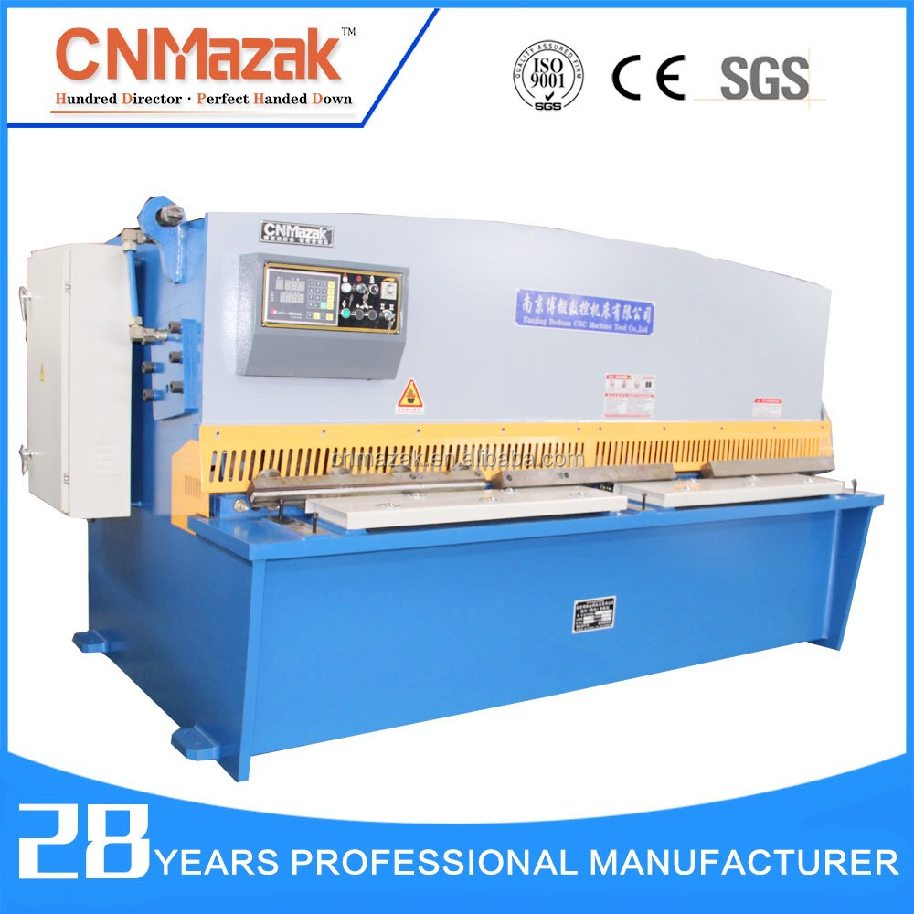 hydraulic metal sheet cutting machine, steel plate shearing machine, cnc sheet cutter