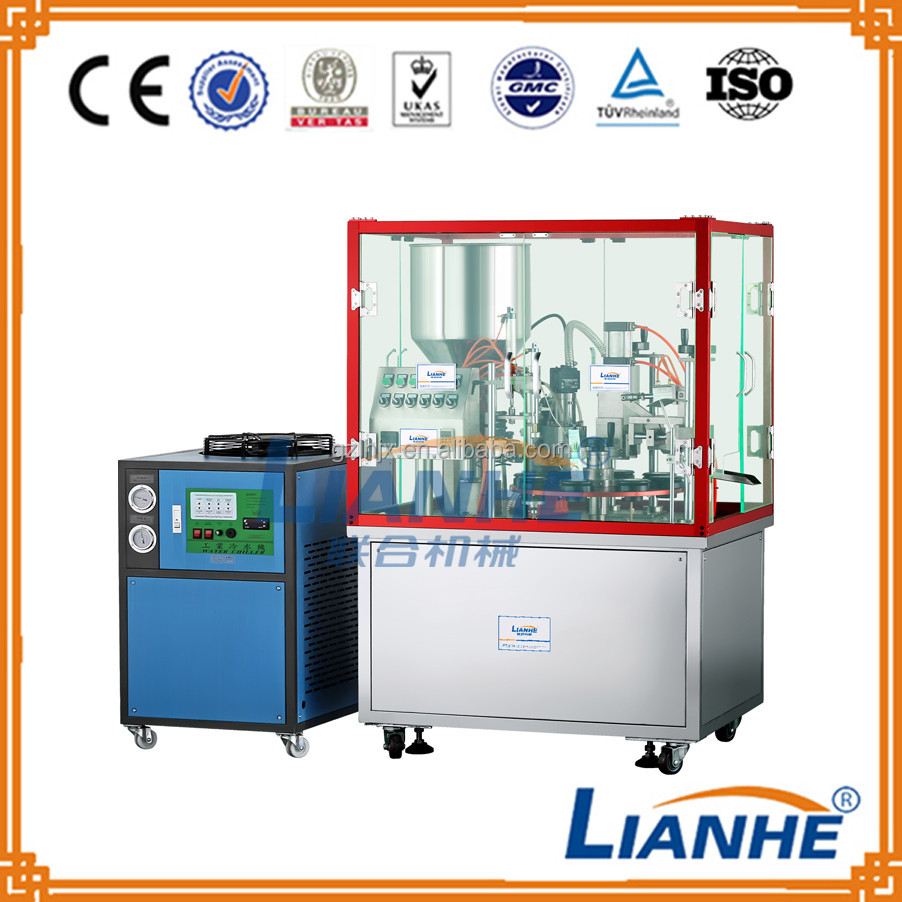 Plastic Tube Filler And Sealer Semi-automatic Face Cream Tube Filling And Sealing Machine