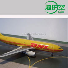 DHL courier to El Salvador
