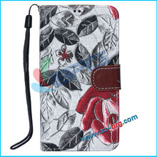BRG-2014 Hot selling New products luxury wallet case for Samsung S5 case with card holder,for Samsung Galaxy S5 case