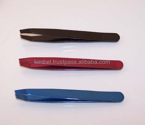 Cosmetic Best Eyebrow Tweezers Slanted tip/ top quality tweezers