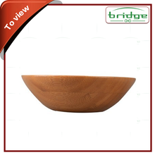 High quality bamboo salad bowl, bamboo fruit bowl